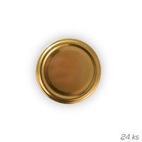 Víčko kov GOLD 66 10 ks