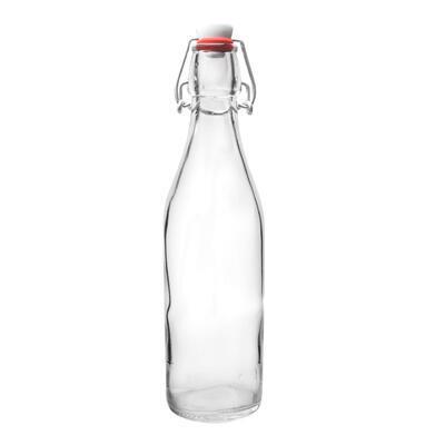 Láhev sklo CLIP uzávěr 0,5 l GIARA