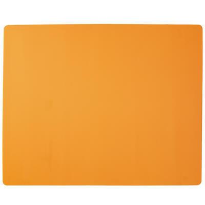 Vál silikon 60x50x0,08 cm oranžová
