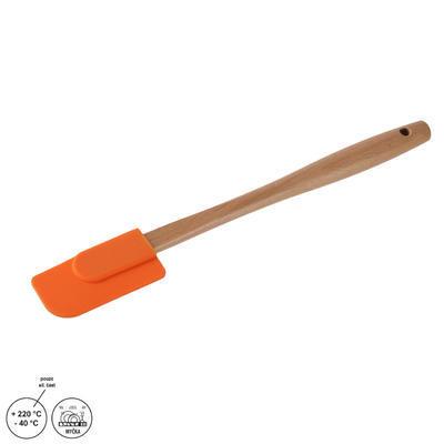 Stěrka kuch. silik/dřevo 26 cm