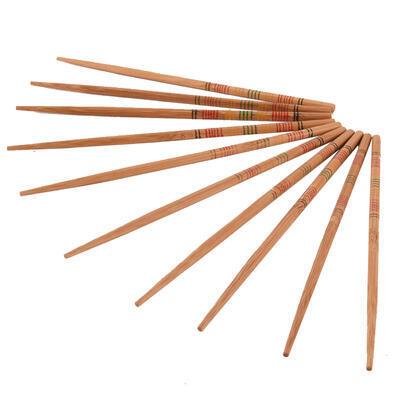 Jídelní hůlky dřevo SUSHI 5 párů