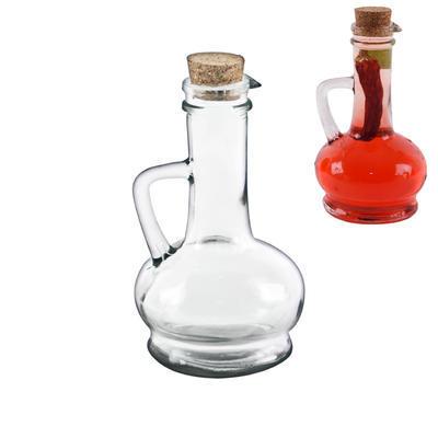 Láhev sklo+zátka korek 0,230 l