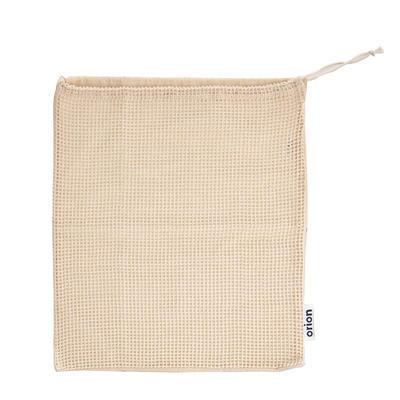 Sáček bavlna zatahovací děrovaný/plný EKO 36x40 cm