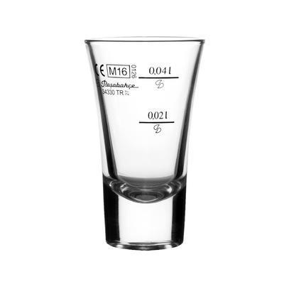 Odlivka sklo BOSTON 0,06 l cejch 0,02 l/0,04 l