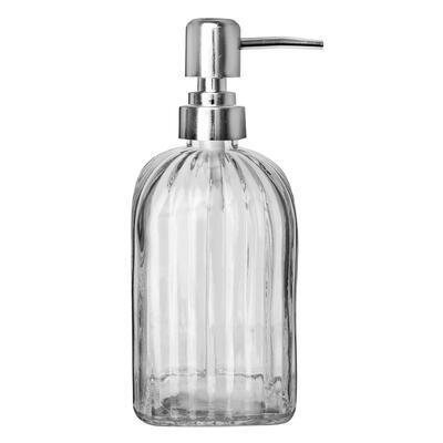 Dávkovač mýdla sklo/UH 0,55 l VROUBKY