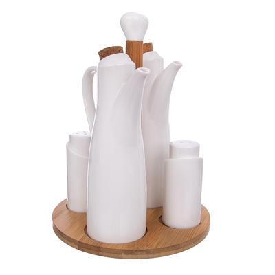 Dochucovací souprava porc./bambus 4+1 WHITELINE