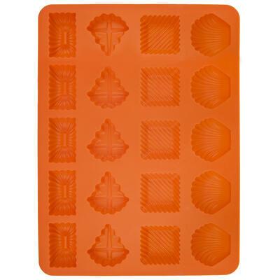 Forma silikon Pracny 20 mix oranžová