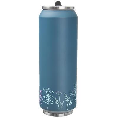 Termoska-plechovka ner. 0,7 l LOUKA petrolejová