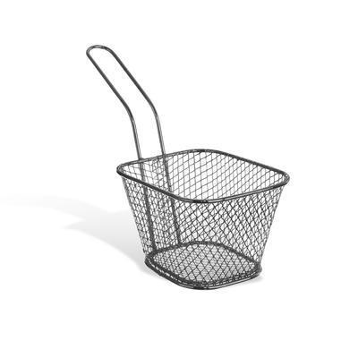 Košík drát servírovací na hranolky 10x8 cm