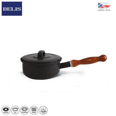 Rendlík černá BELIS 16 cm pok.+od. drž.