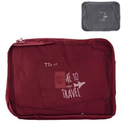 Sada cestovních organizérů do kufru 6 ks