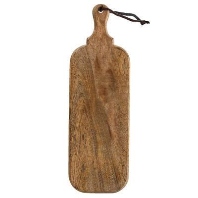 Prkénko rukojeť dřevo MANGO 50,5x16 cm