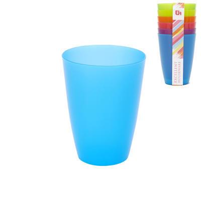 Pohár UH barevný 6 ks 0,3 lASS